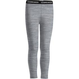 Icebreaker Kids Oasis Legging Metro HTHR/Black/White